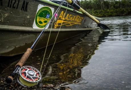 Silver Salmon Rig at Alaska West