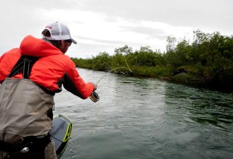 Kyle Shea Casting at Alaska West