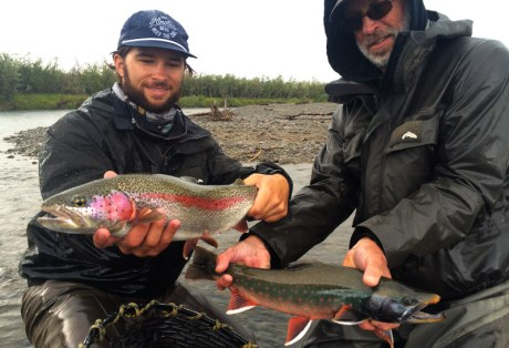Fly Fishing for Rainbow Trout and Dolly Varden