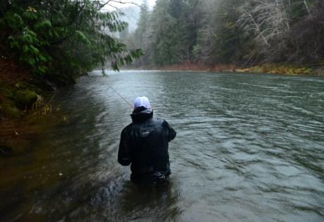 Kyle Shea Spey Fishing: Photo Nick Chambers