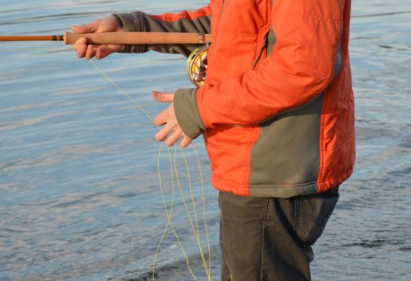 Managing Running Line for Spey Fishing