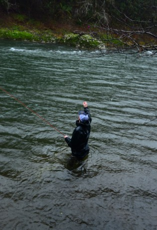 Hooking Trees While Fly Fishing
