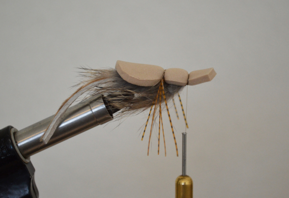How to tie the Mr. Hankey mouse fly for trout