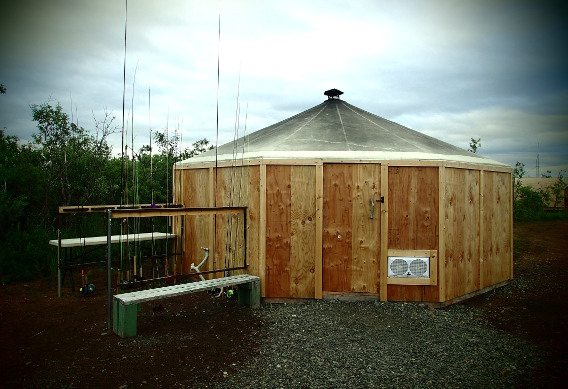 Drying Tent at Alaska West