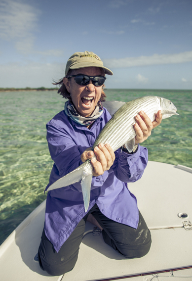 South Andros Bonefish by Hollis Bennett.