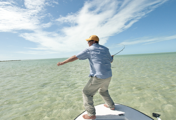 Fly Fishing for Bonefish by Louis Cahill Photography