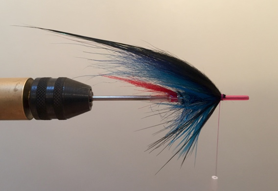 How to tie the Templedog Tube Fly for Salmon and Steelhead.
