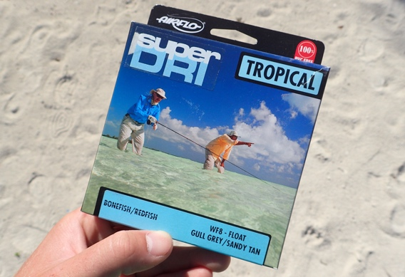 Airflo Super Dri Tropical Bonefish Fly Line.