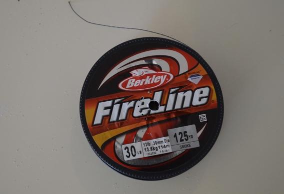 Fireline braid for stinger loops.