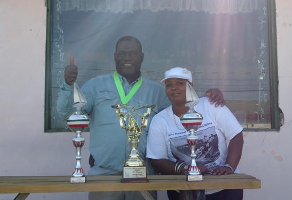Josie Sands Wins Bahamas National Family Island Regatta.