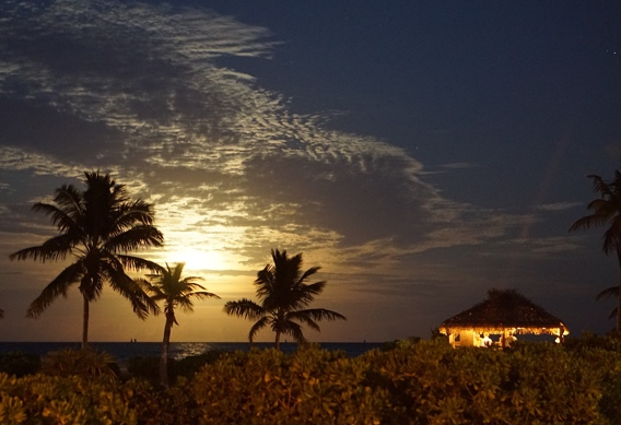 Super moon at Andros South