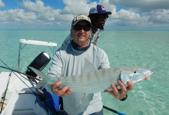 A big bonefish from Andros South.