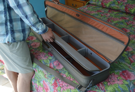 "Fishpond 45"" Dakota Rod and Reel Case for spey rods."
