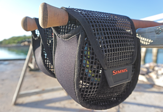 Simms Bounty Hunter Mesh Reel Pouch Review.