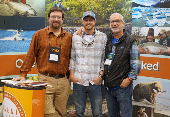 Deneki Outdoors at the Fly Fishing Show in Atlanta.