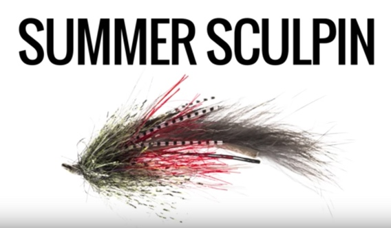 Jerry French's Summer Sculpin fly pattern.