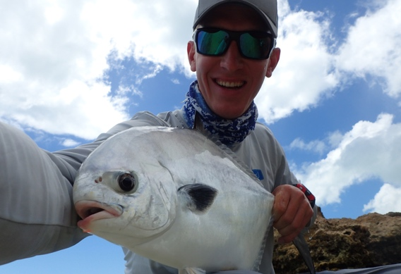 Permit landed at Andros South
