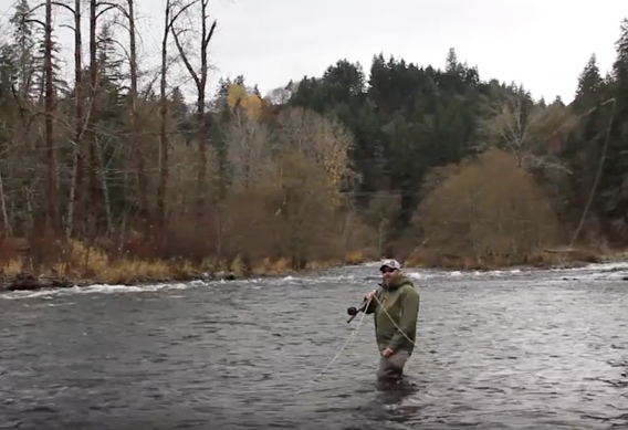 Spey casting d-loop tips from airflo.