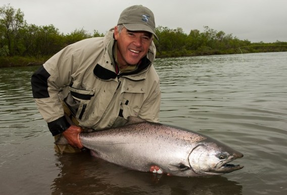 Fly rods for king salmon