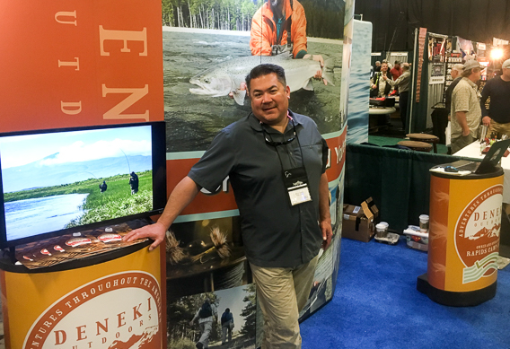 Deneki Outdoors at the Fly Fishing Show