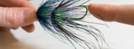 Pushing in stinger hooks to create more space for flies