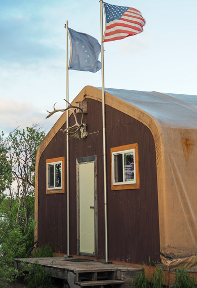 Lounge tent at Alaska West