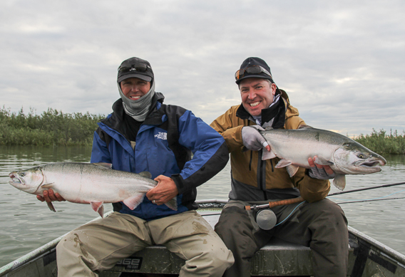 Our favorite silver salmon flies