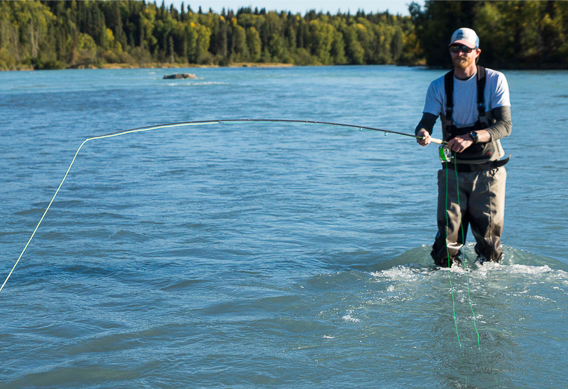 spey casting - overhand and tip, head, and rod length