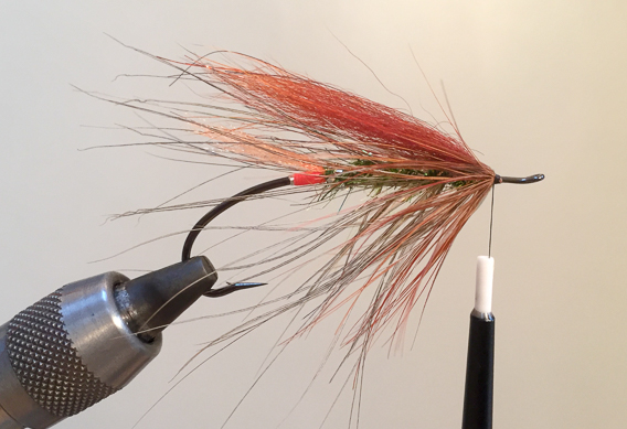 How to tie the lady caroline steelhead fly with modern materials-16