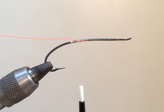 How to tie the lady caroline steelhead fly with modern materials-2