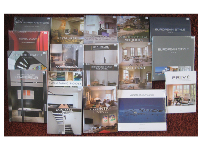 Architectuur & Interieur – Collectie boeken (SEALED !) Uitgave Beta ...