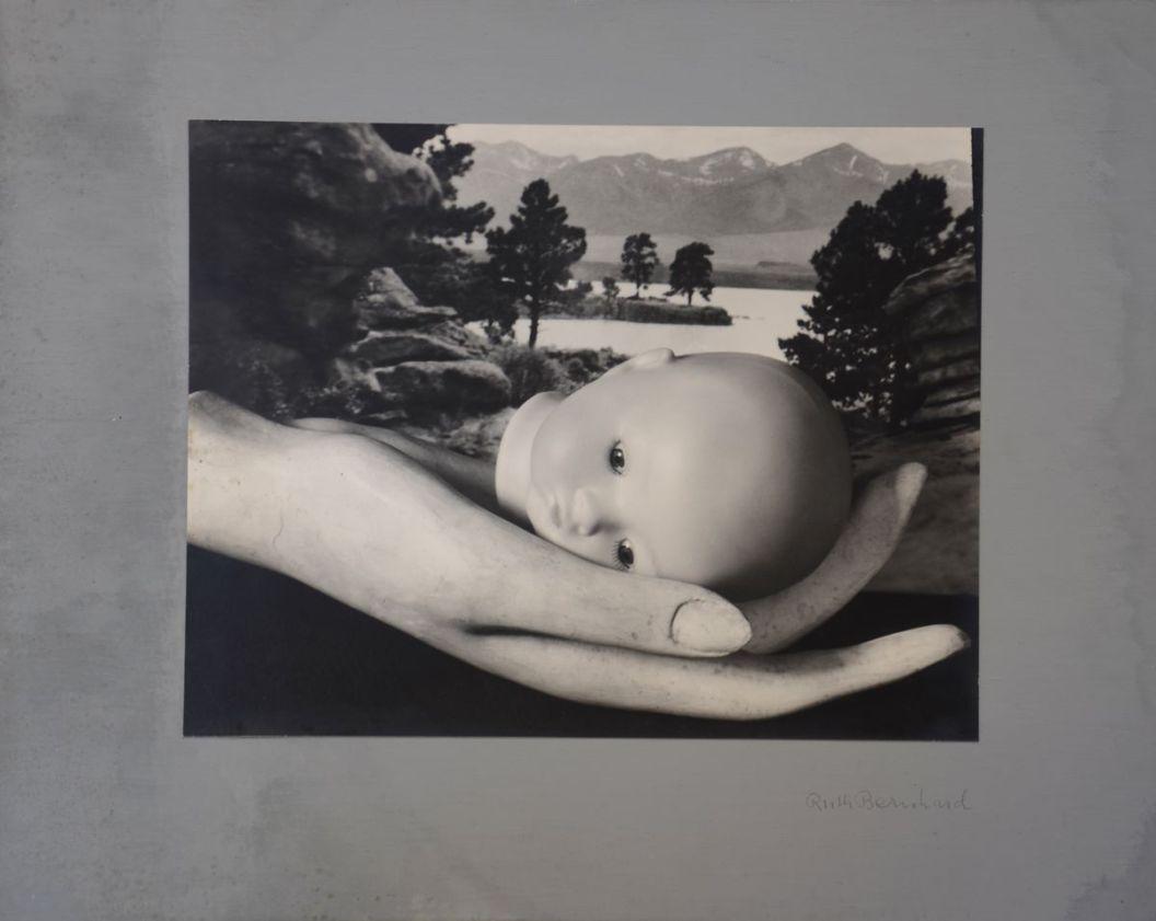 """Ruth Bernhard, """"Creation/Doll's Head"""", vintage 1936 silver gelatin"""
