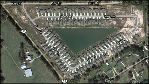 lake-at-grays-creek-subdivision-denham-springs-la-aerial-map