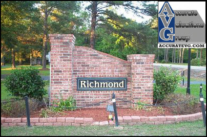 Richmond Place Denham Springs Entrance Sign