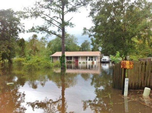 spillers ranch road flooding denham springs 08 2012