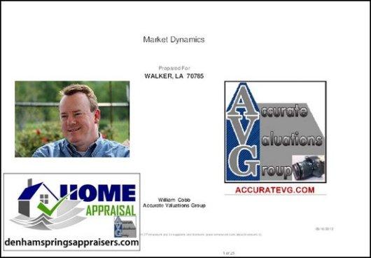 Walker LA Home Sales Trends August 2012 Report PDF
