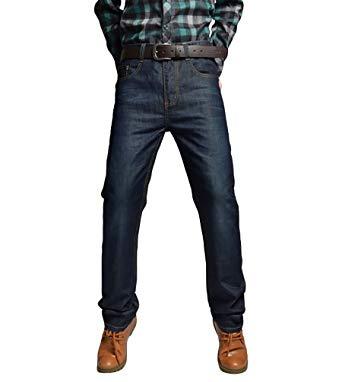 Custom Fit Straight Leg Jeans