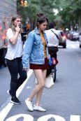 Denim Jacket on newyork street