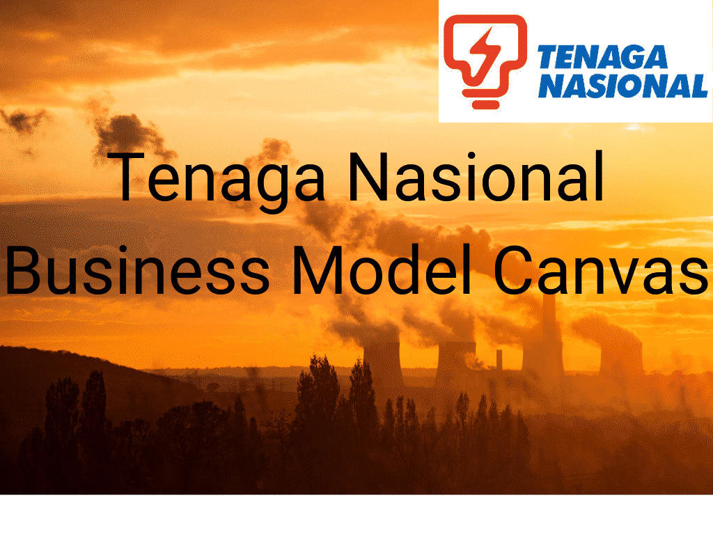 Tenaga Nasional Business Model Canvas Title