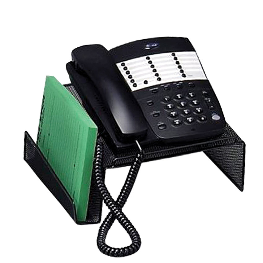 winnable mesh telephone stand black