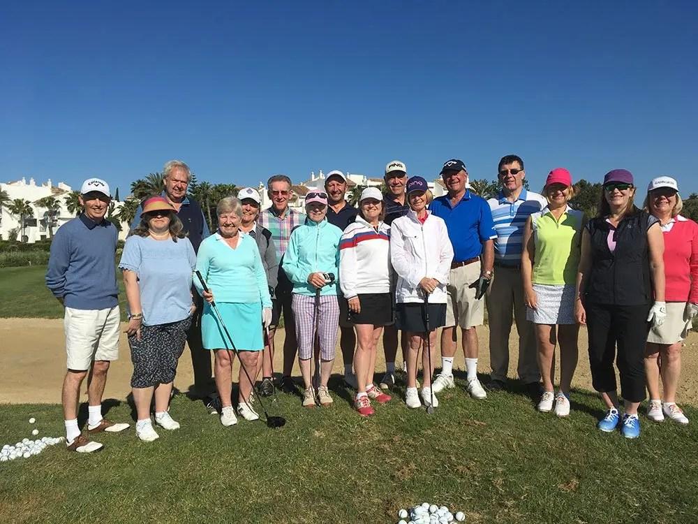 Costa Ballena golf school 2017