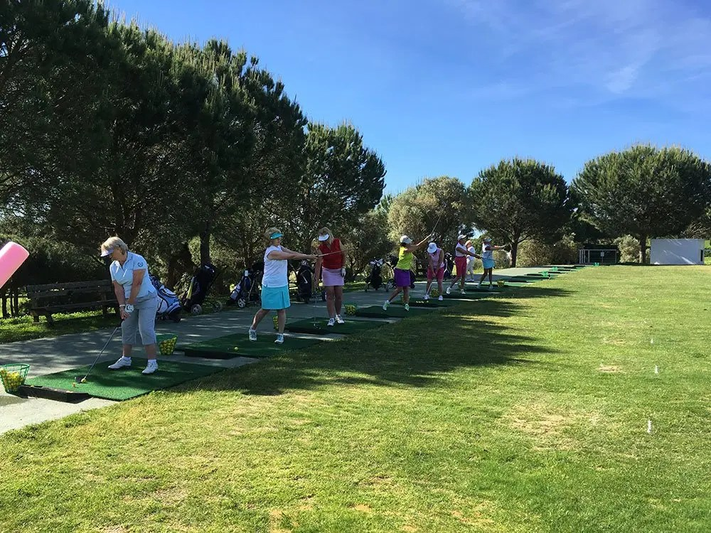 El Rompido golf school May 2017