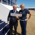 Denise with Gary Player