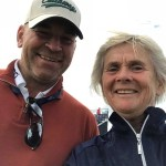 Denise with Thomas Bjorn