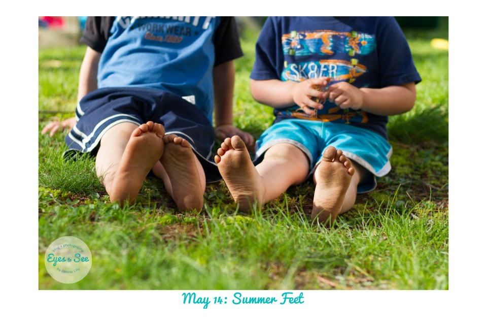 May 14 Summer Feet