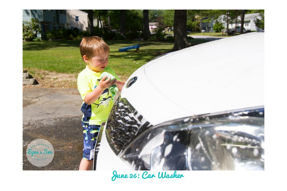 June 26 Car Washer