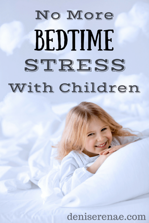 Bedtime routine with our four children, aged six and under, was extremely stressful for me (even with my husband's help). Here are the two strategies we now use to relieve that bedtime stress…