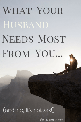 There is one thing that is missing in most marriage relationships. One thing that the woman lacks in giving to her husband.
