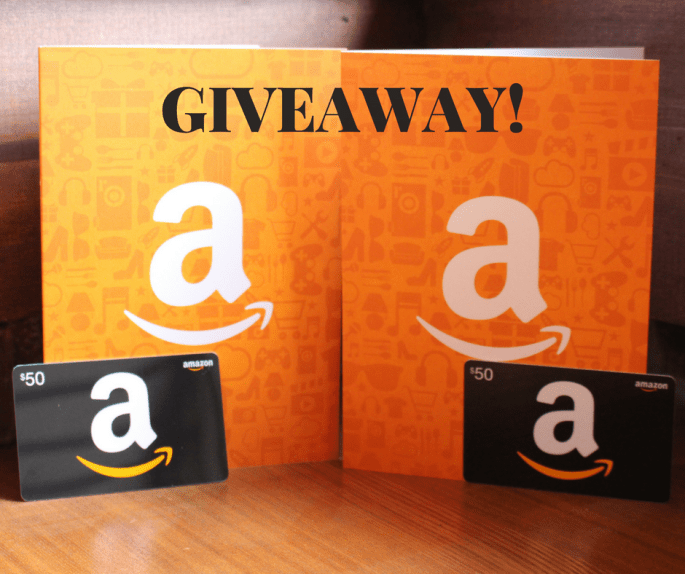 I'm hosting an Amazon Giveaway! Two people will be blessed with a $50 gift card to Amazon. Simply fill out the form below to be entered multiple ways for this Giveaway.