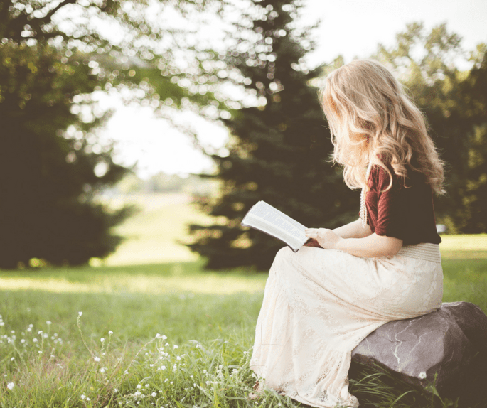 I'm very intentional about creating space for reading in my daily schedule. Because it's important to me, I make it a priority. I make time to read. We all have the same 24 hours in a day. And, for the most part, we all get to decide how to spend them.